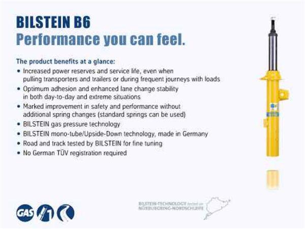 24-193597 Bilstein B6 Series HD Shock Absorber main image