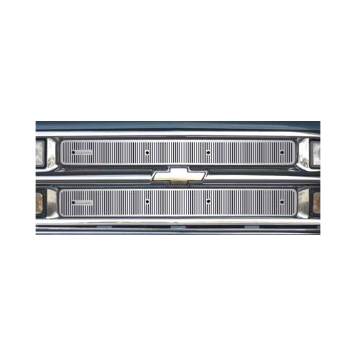 24-100 Cloud-Rider Stainless Steel Grille Inserts - Classic All Season Screen main image