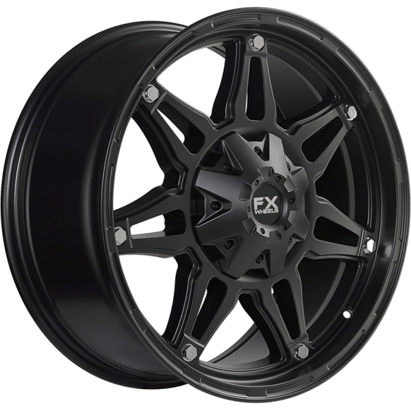 314896112 FX Wheels FX14 - Satin Black main image