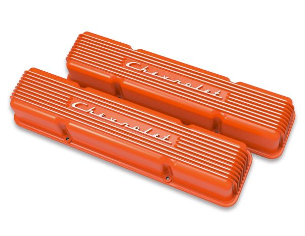 241-109 Holley Custom Aluminum Valve Cover Set main image