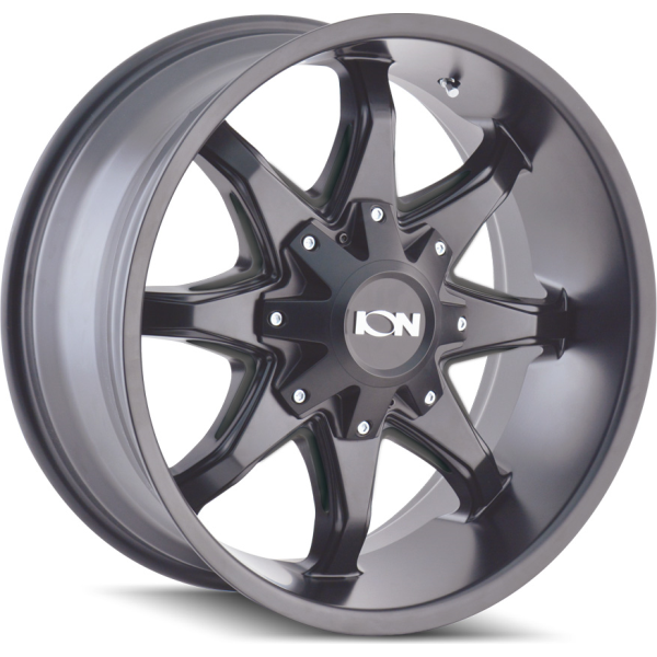 181-2952M Ion Wheels 181 Series - Satin Black - Milled spokes main image