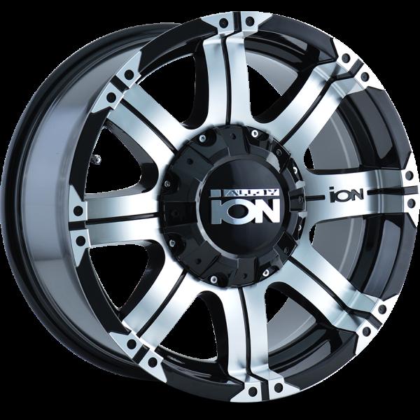 187-8978B Ion Wheels 187 Series - Machined - Machined lip main image