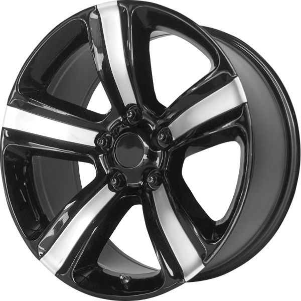 155BS-298518 OE CREATION Wheels PR155 - Gloss Black with Machined Accents main image