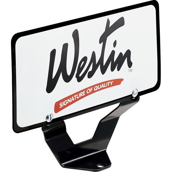 32-0055 Westin Bull Bar License Plate Relocator main image