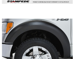 Stampede Trail Riderz Fender Flares - Textured Black
