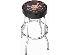 PlastiColor Busted Knuckle Garage Stool
