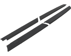 Husky Liners Quad Caps Truck Bed Rail Protector