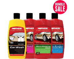 Mother's California Gold Exterior Wash and Polish Bundle