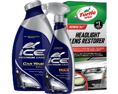 Turtle Wax Exterior ICE Car Wash, Wax and Headlight Restorer