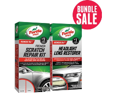 Turtle Wax Scratch Removal Kit and Headlight Restorer
