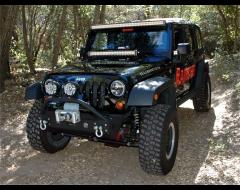 KC Hilites C30 30 in. Combo LED Light Bar & Bracket For Jeep