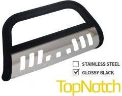 TopNotch Bull Bar - Black Stainless Steel