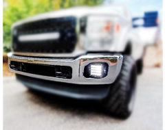 Rigid Industries LED Fog Light Mounting Brackets
