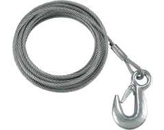 Fulton Winch Cable and Hook