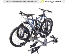 Swagman Quad 2+2 Hitch Mounted Platform Bike Carrier