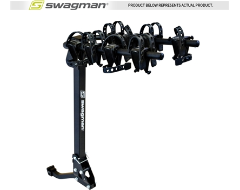 Swagman Trailhead Hitch Mounted Tilt Arm Bike Carriers