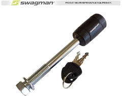 "Swagman Anti-Rattle Threaded 5/8"" Locking Hitch Pin"