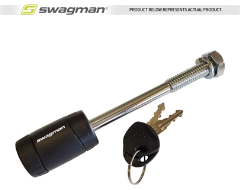 "Swagman Anti-Rattle Threaded 1/2"" Locking Hitch Pin"