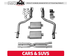 Dynomax Cat Back Exhaust Systems - Cars and SUVs