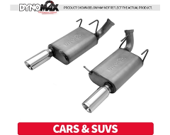 Dynomax Axle-Back Exhaust Systems