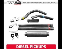 Dynomax Filter / Turbo-Back Exhaust Systems - Diesel Pickup Trucks