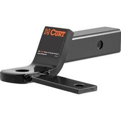 """Curt Sway Tab Ball Mount for 2"""" Hitch"""