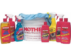 Mother's Car Detailing Kit with Bucket