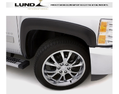 Lund SX-Sport Style Fender Flares - Smooth Black