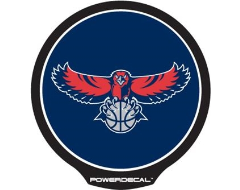 PowerDecal LED-backlit NBA Series - Atlanta Hawks