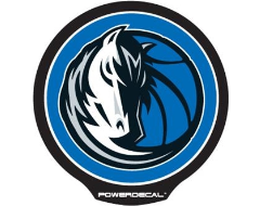 PowerDecal LED-backlit NBA Series - Dallas Mavericks