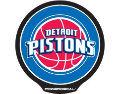 PowerDecal LED-backlit NBA Series - Detroit Pistons