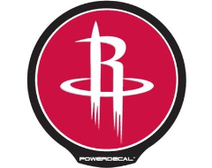 PowerDecal LED-backlit NBA Series - Houston Rockets