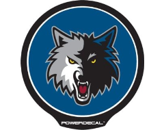 PowerDecal LED-backlit NBA Series - Minnesota Timberwolves