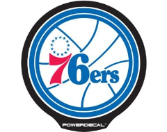 PowerDecal LED-backlit NBA Series - Philadelphia 76ers