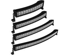 RTX Single Row Curved LED Light Bars