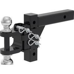 """Curt Adjustable Multi-Purpose Ball Mount and Shank for 2"""" Hitch"""