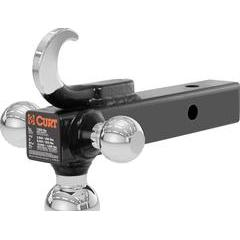 """Curt Multi-Ball Mount with Tow Hook for 2"""" Hitch"""