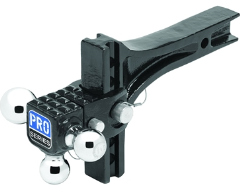 "Pro Series Adjustable Ball Mount for 2"" Hitch"