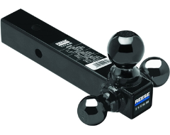 "Reese Titan Tri-Ball Hollow Shank Ball Mount for 2-1/2"" Hitch"
