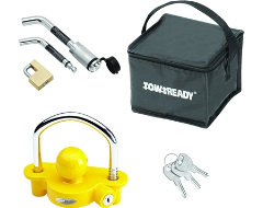 Tow Ready Keyed-Alike Coupler/Trailer/Receiver Lock Set