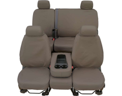 Covercraft SeatSaver Custom Polycotton Seat Covers - Misty Grey