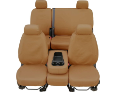 Covercraft SeatSaver Custom Polycotton Seat Covers - Tan