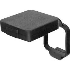 Curt Rubber Hitch Tube Cover with 4-Way Plug Holder