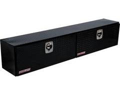Weatherguard Hi-Side Mount Tool Box - Clear Aluminum