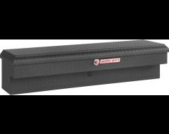 Weatherguard Lo-Side Mount Tool Box - Textured Matte Black Aluminum