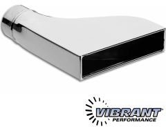 Vibrant Straight Cut Rectangular Exhaust Tips