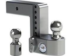 "Weigh Safe Drop Hitch Adjustable Ball Mount for 2-1/2"" Hitch"