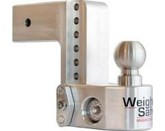 "Weigh Safe Drop Hitch Adjustable Ball Mount for 3"" Hitch"