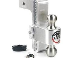 """Weigh Safe 180 Hitch Adjustable Ball Mount for 3"""" Hitch"""