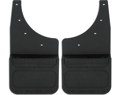 Cloud-Rider Advantage Custom Fit Kick Back Mud Flaps - Black Insert